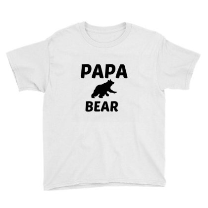 Papa Bear Youth Tee Designed By Perfect Designers
