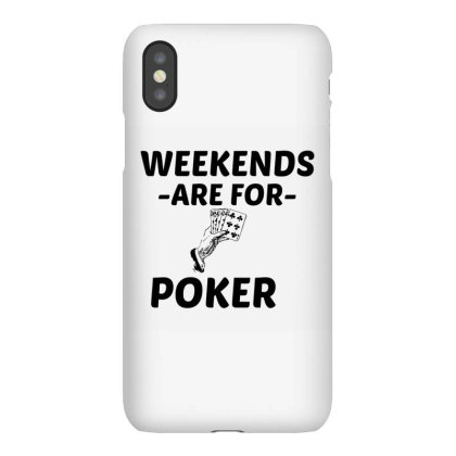 Poker Weekend Iphonex Case Designed By Perfect Designers