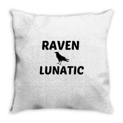 Raven Lunatic Throw Pillow Designed By Perfect Designers