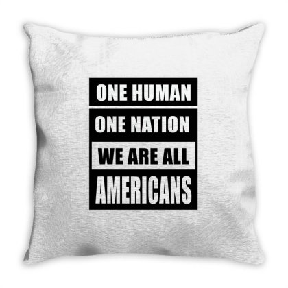 All Lives Matter Throw Pillow Designed By Elegance99