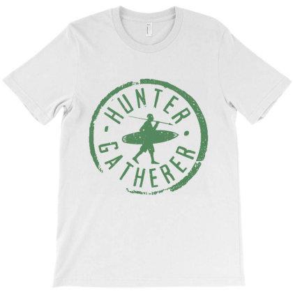 Hunter Gatherer Worker T-shirt Designed By Designisfun