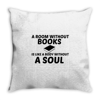 Room Without Books Throw Pillow Designed By Perfect Designers