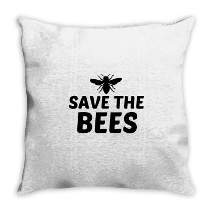 Save The Bees Throw Pillow Designed By Perfect Designers