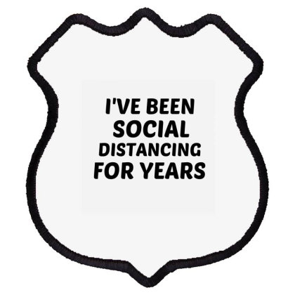Social Distancing Shield Patch Designed By Perfect Designers