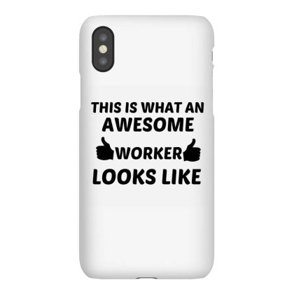 Worker Awesome Iphonex Case Designed By Perfect Designers