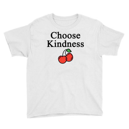 Choose Kindness Youth Tee Designed By Faical