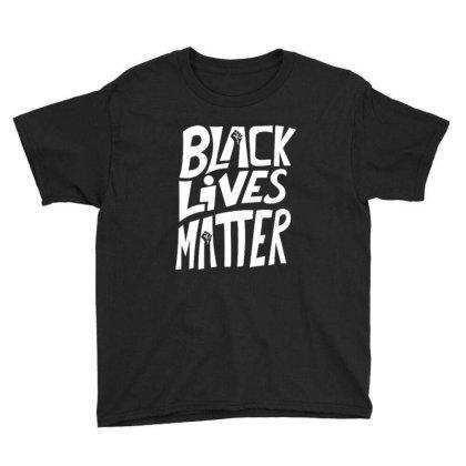 Black Lives Matter Youth Tee Designed By Kiva27