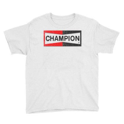 Champion Youth Tee Designed By Kiva27