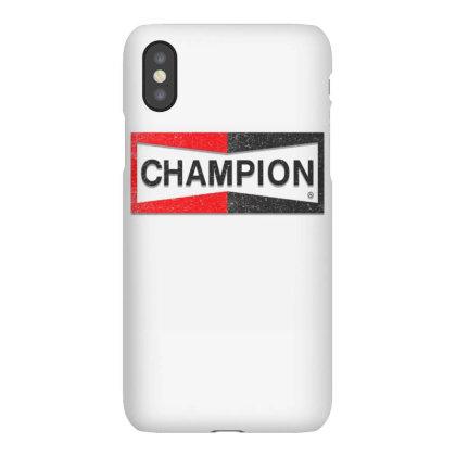 Champion Iphonex Case Designed By Kiva27