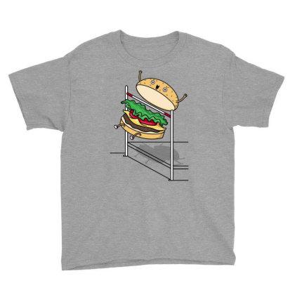 Burger Jump! Youth Tee Designed By Raffiti