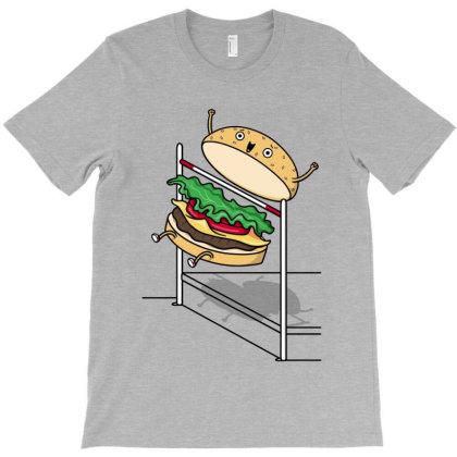 Burger Jump! T-shirt Designed By Raffiti