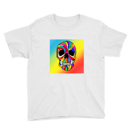 Skull Pride Youth Tee Designed By Appicleart
