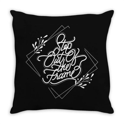 Step Out Of The Frame Throw Pillow Designed By Estore
