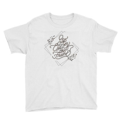 Step Out Of The Frame Youth Tee Designed By Estore