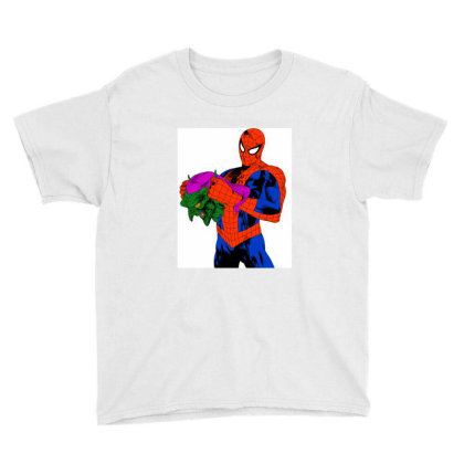 Spider Man Youth Tee Designed By Appicleart