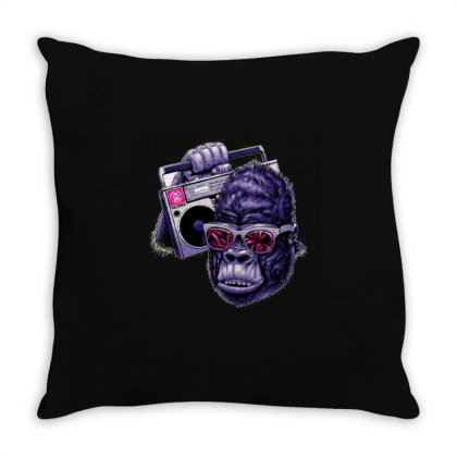 Orang Utan Saltrock Throw Pillow Designed By Kiva27
