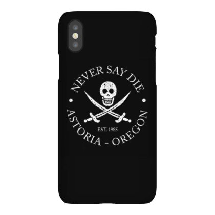 Never Say Die Iphonex Case Designed By Kiva27