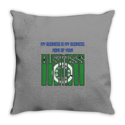 Business Throw Pillow Designed By Twinkle Hablani