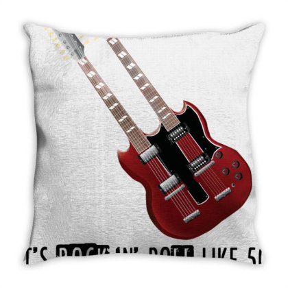 Rock 'n' Roll 01 Throw Pillow Designed By Twinkle Hablani