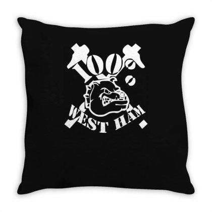 West Ham 100% Throw Pillow Designed By L4l4pow