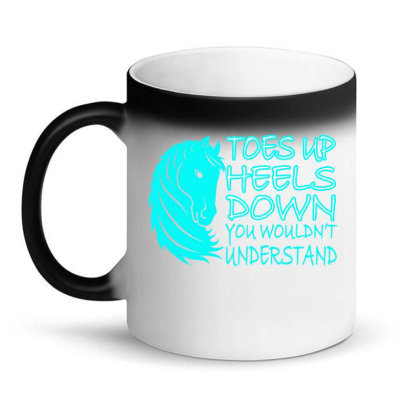 Toes Up Heel Down Magic Mug Designed By Ashlıcar