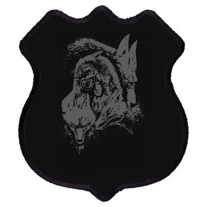 Wolf Princess Warrior Shield Patch Designed By Fanshirt