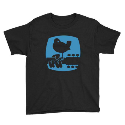 Woodstock 1969 Classic Youth Tee Designed By Jetstar99