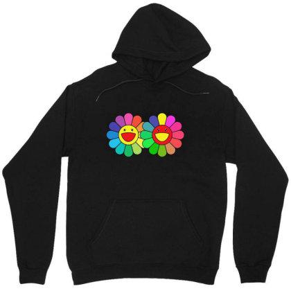 Couple Takashi Murakami Happy Flower Unisex Hoodie