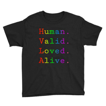 Human Youth Tee Designed By Domino Tees