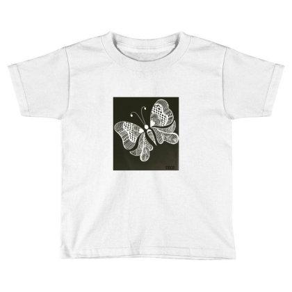 Buterrfly Toddler T-shirt Designed By Sinchana Ko