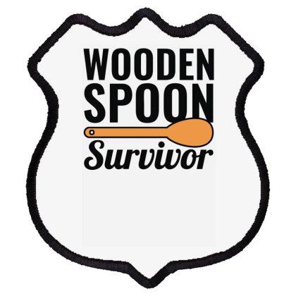 Wooden Spoon Survivor Shield Patch Designed By Erishirt