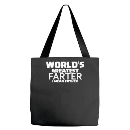 World`s Greatest Farter Funny Tote Bags Designed By Erishirt