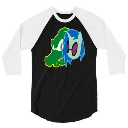 Wild Crocodille 3/4 Sleeve Shirt Designed By Erishirt