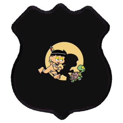 Tintin Curumim Shield Patch Designed By Feniavey