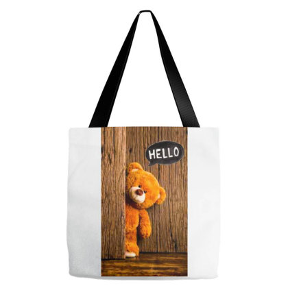 Hello Tote Bags Designed By _lakra_