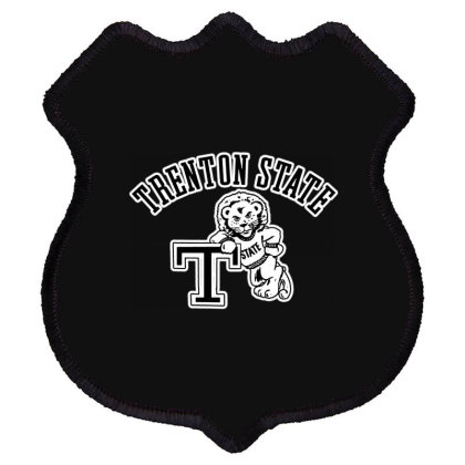 Trenton State College Shield Patch Designed By Raymod Art