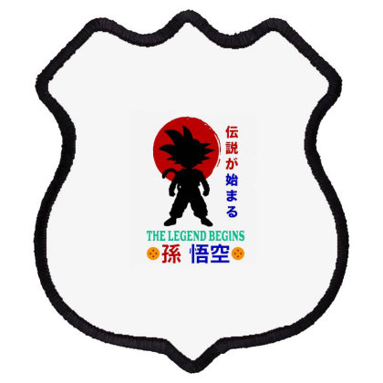 The Legend Begins Shield Patch Designed By Feniavey