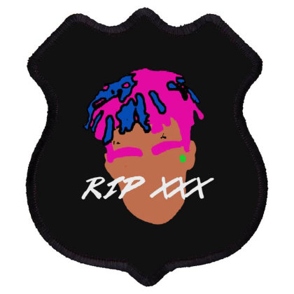 Rest In Peach 1998 2018 Tee Shield Patch Designed By Pinkanzee