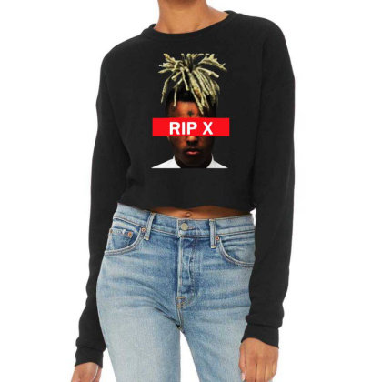 Rest In Peach Cropped Sweater Designed By Pinkanzee