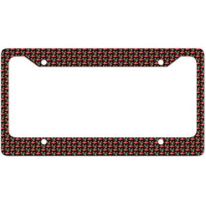 Rest In Peach License Plate Frame Designed By Pinkanzee