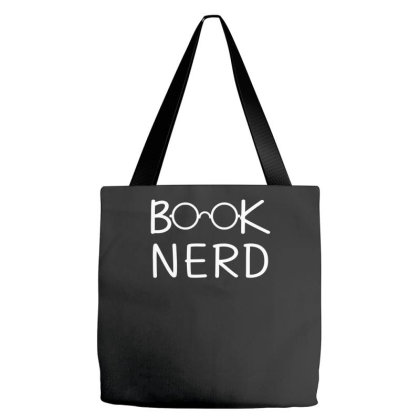 Book Nerd Funny Tote Bags Designed By Erishirt