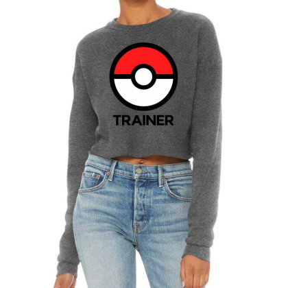 Trainer Cropped Sweater Designed By Pinkanzee