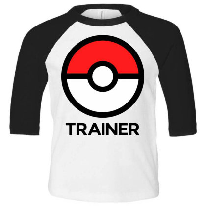 Trainer Toddler 3/4 Sleeve Tee Designed By Pinkanzee