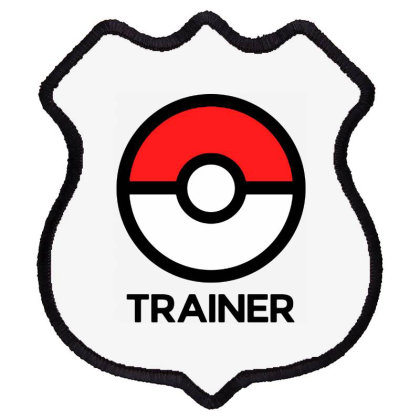 Trainer Shield Patch Designed By Pinkanzee