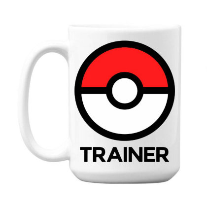 Trainer 15 Oz Coffe Mug Designed By Pinkanzee