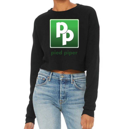 Pied Piper Cropped Sweater Designed By Pinkanzee