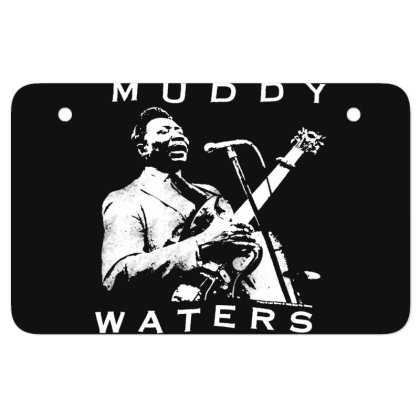 Muddy Waters Atv License Plate Designed By Pinkanzee