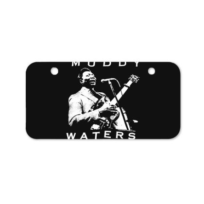 Muddy Waters Bicycle License Plate Designed By Pinkanzee