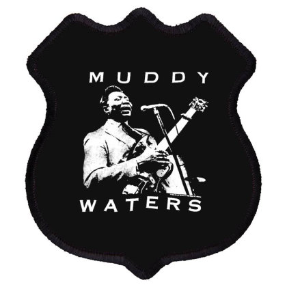 Muddy Waters Shield Patch Designed By Pinkanzee