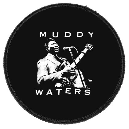 Muddy Waters Round Patch Designed By Pinkanzee
